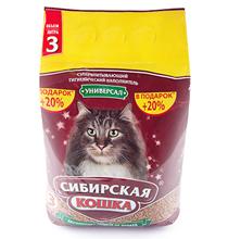 Сибирская Кошка / Наполнитель для кошачьего туалета Универсал