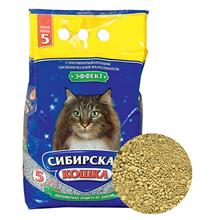 Сибирская Кошка / Наполнитель для кошачьего туалета Эффект