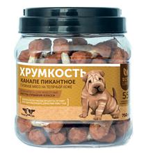 Green Qzin Хрумкость / Лакомство Грин Кьюзин для собак сушеные гантельки с Курицей