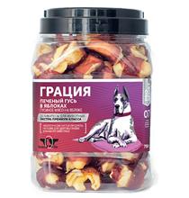 Green Qzin Грация / Лакомство Грин Кьюзин для собак Петушок запеченный в яблоке