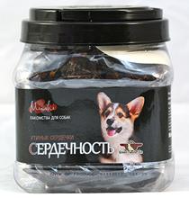 Green Qzin Миники Сердечность / Лакомство Грин Кьюзин для собак Мини пород сушеные Утиные сердечки
