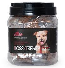 Green Qzin Boss терьер / Лакомство Грин Кьюзин для собак мини пород колбаски с мясом Теленка