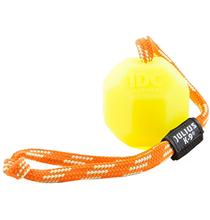 JULIUS-K9 / Игрушка Джулиус К9 для собак Мяч с ручкой Флуоресцентный Силикон