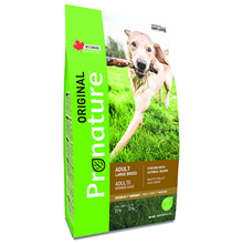 Pronature Original Adult Large Breed Chicken / Сухой корм Пронатюр для взрослых собак Крупных пород Курица овес
