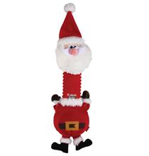 GiGwi Dog X-mas Tales / Игрушка Гигви для собак Санта с пищалкой