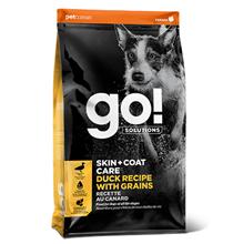 GO! Skin + Coat Care Duck Recipe with Grains / Сухой корм Гоу для Щенков и собак Цельная утка Овсянка