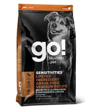 GO! Sensitivities Limited Ingredient Grain Free Venison recipe / Сухой Беззерновой корм Гоу для Щенков и собак с Чувствительным пищеварением свежая Оленина