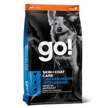 GO! Skin + Coat Care Grain Free Chicken Recipe / Сухой Беззерновой корм Гоу для собак всех возрастов Цельная Курица