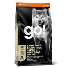 GO! Carnivore Grain Free Lamb + Wild Boar Recipe / Сухой Беззерновой корм Гоу для собак всех возрастов Ягненок и мясо Дикого Кабана