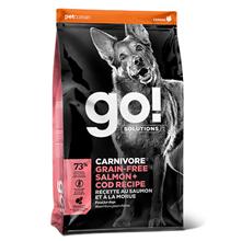 GO! Carnivore Grain Free Salmon + Cod Recipe / Сухой Беззерновой корм Гоу для собак всех возрастов Лосось Треска