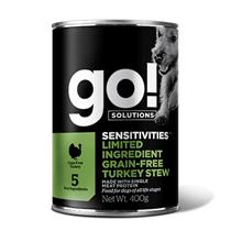 GO! Sensitivities Limited Ingredient Grain Free Turkey Stew / Беззерновые консервы Гоу для собак Индейка (цена за упаковку)