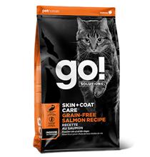 GO! Skin + Coat Care Grain Free Salmon Recipe / Сухой Беззерновой корм Гоу для Котят и кошек Лосось
