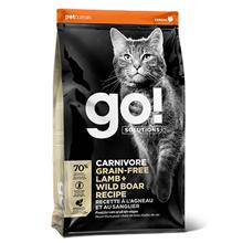 GO! Carnivore Grain Free Lamb + Wild Boar Recipe / Сухой Беззерновой корм Гоу для Котят и кошек Ягненок и мясо Дикого Кабана