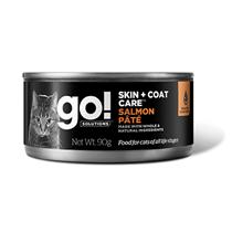 GO! Skin + Coat Care Care Salmon Pate / Консервы Гоу для кошек с Лососем (цена за упаковку)