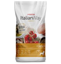 Italian Way Classic Fit Adult Mini Gluten free Chicken / Сухой Безглютеновый корм Италиан Вей для собак Мелких пород Курица рис