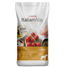 Italian Way Classic Fit Adult Medium Gluten free Chicken / Сухой Безглютеновый корм Италиан Вей для собак Курица рис