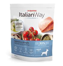 Italian Way Hypoallergenic Adult Mini Salmon Herrings Gluten free / Сухой Безглютеновый корм Италиан Вей для собак Мелких пород с Чувствительной кожей Гипоаллергенный Лосось Сельдь