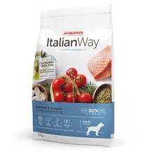 Italian Way Hypoallergenic Adult Medium Gluten free Salmon Herrings / Сухой Безглютеновый корм Италиан Вей для собак Средних пород с Чувствительной кожей Гипоаллергенный Лосось Сельдь