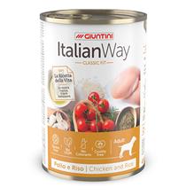 Italian Way Classic Fit Gluten free Chicken / Консервы Италиан Вей для собак Курица Томат рис (цена за упаковку)