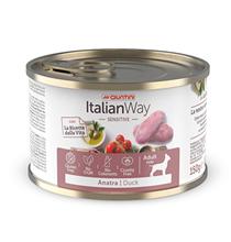 Italian Way Sensitive Gluten free Duck / Консервы Италиан Вей для собак с Чувствительным пищеварением Утка Томат Картофель (цена за упаковку)