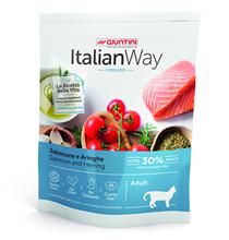 Italian Way Sterilized Adult Gluten free Salmon Herrings / Сухой Безглютеновый корм Италиан Вей для Стерилизованных кошек Лосось Сельдь