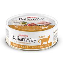 Italian Way Adult Chicken / Консервы Италиан Вей для взрослых кошек Курица рис (цена за упаковку)