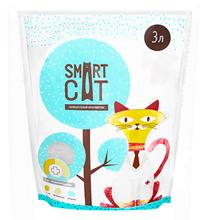 Smart Cat / Наполнитель Смарт Кэт для кошек Силикагелевый с pH индикатором