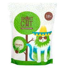 Smart Cat / Наполнитель Смарт Кэт для кошек Силикагелевый аромат Алоэ