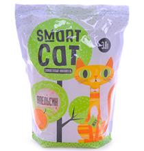 Smart Cat / Наполнитель Смарт Кэт для кошек Силикагелевый аромат Апельсина