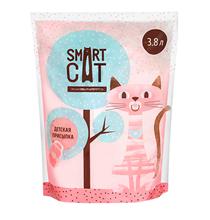 Smart Cat / Наполнитель Смарт Кэт для кошек Силикагелевый аромат Детской присыпки