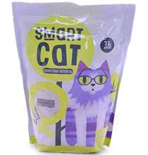 Smart Cat / Наполнитель Смарт Кэт для кошек Силикагелевый аромат Лаванды