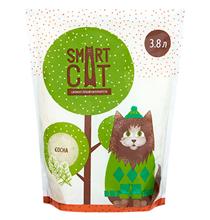 Smart Cat / Наполнитель Смарт Кэт для кошек Силикагелевый аромат Сосны