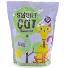 Smart Cat / Наполнитель Смарт Кэт для кошек Силикагелевый аромат Яблока