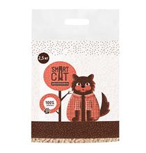 Smart Cat / Наполнитель Смарт Кэт для кошек Древесный пеллета 6мм
