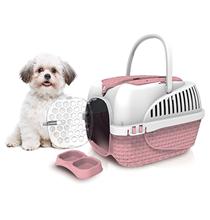 Bama Pet Kennel Tour Maxi / Переноска Бама Пет для животных весом до 12 кг Розовая