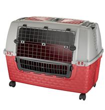 Bama Pet Kennel Tour Easy / Переноска Бама Пет для животных в машину Красная