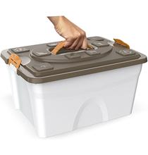 Bama Pet Sim Pet / Контейнер Бама Пет для хранения корма Бежевый