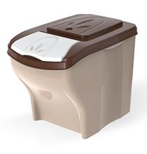 Bama Pet Poker / Комплект контейнеров Бама Пет для хранения корма Бежевый 1х3шт