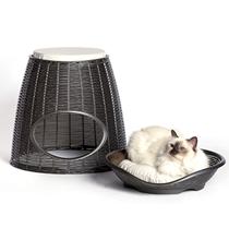 Bama Pet Pasha / Домик Бама Пет для кошек c Подушечками 52х60х46/55h см
