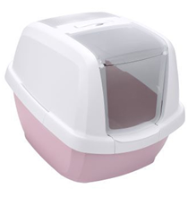 IMAC Maddy / Био-туалет Аймак для кошек Белый/Нежно-розовый