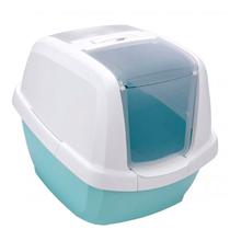IMAC Maddy / Био-туалет Аймак для кошек Белый/Цвет морской волны