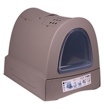 IMAC Zuma / Био-туалет Аймак для кошек Серо-бежевый