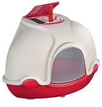 IMAC Ginger / Био-туалет Аймак для кошек Угловой Темно-розовый