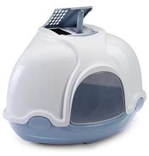 IMAC Ginger / Био-туалет Аймак для кошек Угловой Голубой