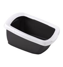 IMAC Funny / Туалет-лоток Аймак для кошек с высокими бортами Антрацит
