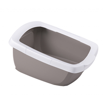 IMAC Funny / Туалет-лоток Аймак для кошек с высокими бортами Бежевый