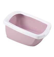 IMAC Funny / Туалет-лоток Аймак для кошек с высокими бортами Нежно-розовый