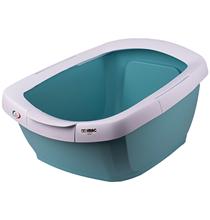IMAC Funny / Туалет-лоток Аймак для кошек с высокими бортами Пастельно голубой