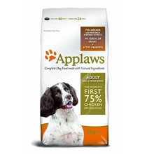 Applaws Small & Medium Breeds No Grain Chicken Vegetables / Сухой Беззерновой корм Эплоус для собак Мелких и Средних пород Курица овощи