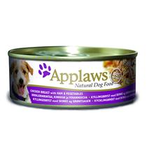Applaws Chicken breast Ham & Vegetables / Консервы Эплоус для собак Курица Ветчина овощи (цена за упаковку)